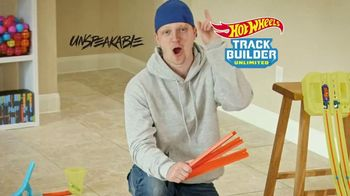 Hot Wheels Track Builder Unlimited TV Spot, 'Challenge Accepted' Featuring Unspeakable - Thumbnail 1