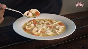 Campbell's Chunky Classic Chicken Noodle Soup TV Spot, 'Soup That Eats Like a Meal' - Thumbnail 1