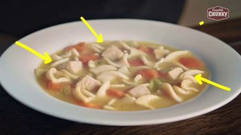 Campbell's Chunky Classic Chicken Noodle Soup TV Spot, 'Soup That Eats Like a Meal' - Thumbnail 6