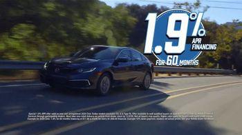 Honda Model Year End Sale TV Spot, 'In Stock: Civic' [T2] - Thumbnail 7