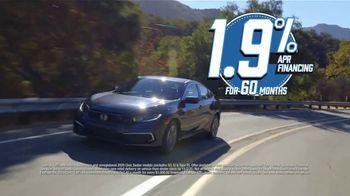 Honda Model Year End Sale TV Spot, 'In Stock: Civic' [T2] - Thumbnail 8