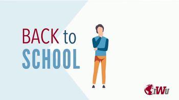 Indiana Wesleyan University TV Spot, 'Going Back to School'