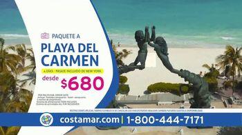 Costamar Travel ¡Ofertas de Locura! TV Spot, 'Playa del Carmen, La Romana, Miami y Bogotá' [Spanish]