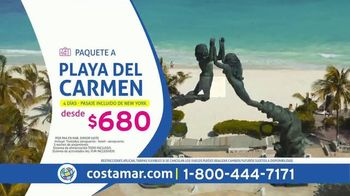 Costamar Travel ¡Ofertas de Locura! TV Spot, 'Playa del Carmen, La Romana, Miami y Bogotá' [Spanish]