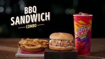 Bojangles BBQ Sandwich Combo TV Spot, 'We Have Barbecue?' - Thumbnail 6