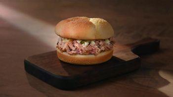 Bojangles BBQ Sandwich Combo TV Spot, 'We Have Barbecue?'