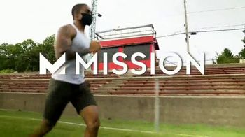 Mission Adjustable Sports Mask TV Spot, 'Play More, Train More, Win More'