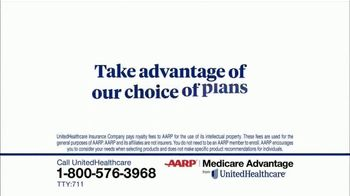UnitedHealthcare AARP Medicare Advantage TV Spot, '2020 Annual Enrollment' - Thumbnail 2