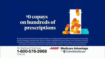 UnitedHealthcare AARP Medicare Advantage TV Spot, '2020 Annual Enrollment' - Thumbnail 6