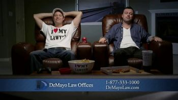 Law Offices of Michael A. DeMayo TV Spot, 'The Shirt'
