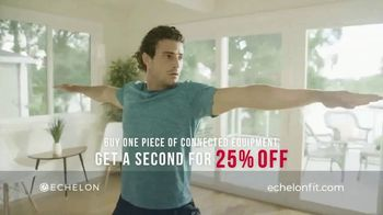 Echelon Fitness TV Spot, 'Home Fitness: Buy One, Get One 25% Off'