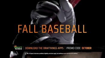 DraftKings Sportsbook TV Spot, 'Fall Baseball'