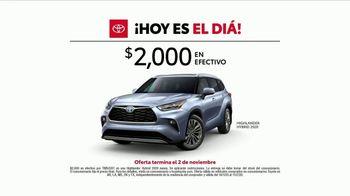 Toyota ¡Evento Hoy Es el Día! TV Spot, 'Potencia' canción de Elvis Presley [Spanish] [T2] - Thumbnail 4