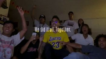 NBA TV Spot, 'We Did It All. Together.' - Thumbnail 6