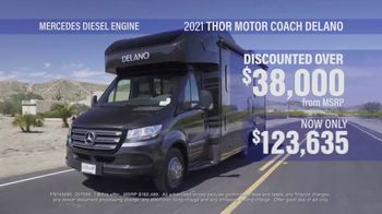 La Mesa RV TV Spot, 'Discounted: 2021 Thor Motor Coach Delano'