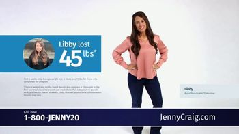 Jenny Craig Rapid Results Max TV Spot, 'Sarah and Libby'