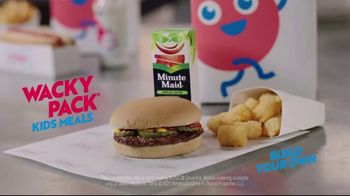 Sonic Drive-In Wacky Pack TV Spot, 'Burger or Grilled Cheese?' - Thumbnail 9