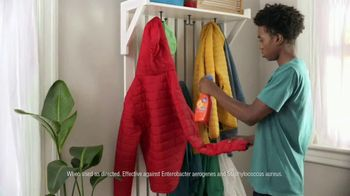 Tide Antibacterial Fabric Spray TV Spot, 'Just to Be Sure' - Thumbnail 4