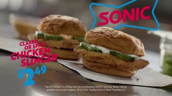 Sonic Drive-In Chicken Slinger TV Spot, 'The Way It Should Be' - Thumbnail 8