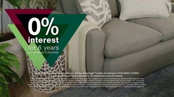 Ashley HomeStore New Years Sale TV Spot, '0% Interest for Six Years' - Thumbnail 5
