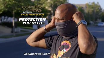 Copper Fit Guardwell Face Protector TV Spot, 'Essential' - Thumbnail 9