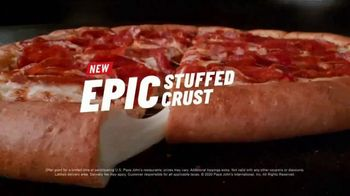 Papa John's Epic Stuffed Crust Pizza TV Spot, 'Stage' - Thumbnail 7