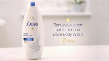Dove Deep Moisture Body Wash TV Spot, 'Para una piel más suave' [Spanish] - Thumbnail 8
