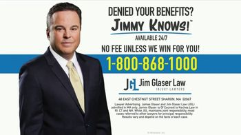 Jim Glaser Law TV Spot, 'Can't Work: Zantac Cases'