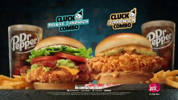 Jack in the Box Crafty Cluck Sandwich Combo TV Spot, 'The New Chicken Dance' Song by Becky G - Thumbnail 6