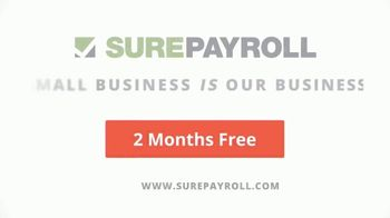 SurePayroll TV Spot, 'Award-Winning Customer Service: Two-Month Free Trial' - Thumbnail 9
