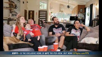 UFC Fight Pass TV Spot, 'UFC 254: Watch Party'