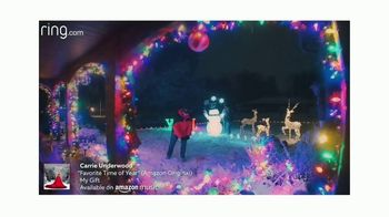 Ring Video Doorbell 3 TV Spot, 'Holidays: Never Miss a Moment' Song by Carrie Underwood
