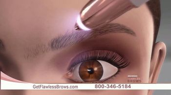 Flawless Brows Precision Hair Remover TV Spot, 'New and Improved' - Thumbnail 3