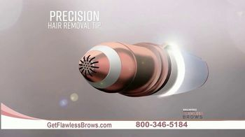 Flawless Brows Precision Hair Remover TV Spot, 'New and Improved' - Thumbnail 4