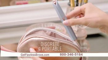 Flawless Brows Precision Hair Remover TV Spot, 'New and Improved' - Thumbnail 7
