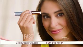Flawless Brows Precision Hair Remover TV Spot, 'New and Improved' - Thumbnail 8