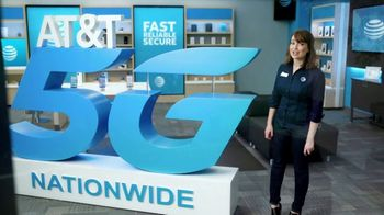AT&T Wireless TV Spot, 'Lily 5G Sign: 5G Nationwide' - Thumbnail 5