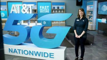 AT&T Wireless TV Spot, 'Lily 5G Sign: 5G Nationwide' - 93 commercial airings