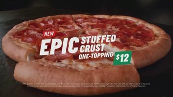 Papa John's Epic Stuffed Crust Pizza TV Spot, 'We Did It' - Thumbnail 9