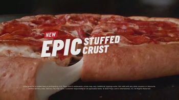 Papa John's Epic Stuffed Crust Pizza TV Spot, 'We Did It' - Thumbnail 7