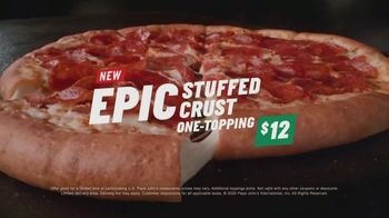 Papa John's Epic Stuffed Crust Pizza TV Spot, 'We Did It' - Thumbnail 8