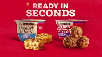 Jimmy Dean Loaded Sausage Bites and Omelet Minis TV Spot, 'Morning Favorites Made Mini' Song by Jimmy Dean