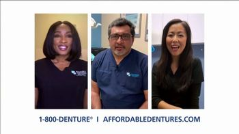 Affordable Dentures TV Spot, 'Tooth Replacement Solutions'