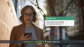 ZipRecruiter TV Spot, 'Looking for a New Job?'