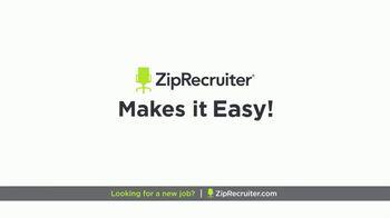 ZipRecruiter TV Spot, 'Looking for a New Job?' - Thumbnail 2