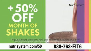 Nutrisystem 50/50 Deal: TV Spot, 'Favorite Foods Made Healthier: 50% Off' Featuring Marie Osmond - Thumbnail 7