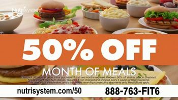 Nutrisystem 50/50 Deal: TV Spot, 'Favorite Foods Made Healthier: 50% Off' Featuring Marie Osmond - Thumbnail 8