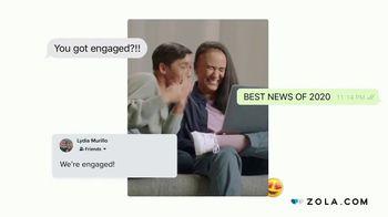 Zola TV Spot, 'Engagement Announcement' - Thumbnail 3