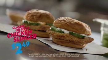 Sonic Drive-In Chicken Slinger TV Spot, 'Types of Spicy' - Thumbnail 8