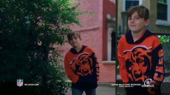 NFL Shop Super Wild Card Weekend TV Spot, 'Make the Colors Hit' Song by KYLE, K CAMP, Rich the Kid - Thumbnail 2